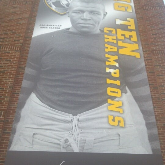 Photo taken at Kinnick Stadium by Chad S. on 10/11/2012