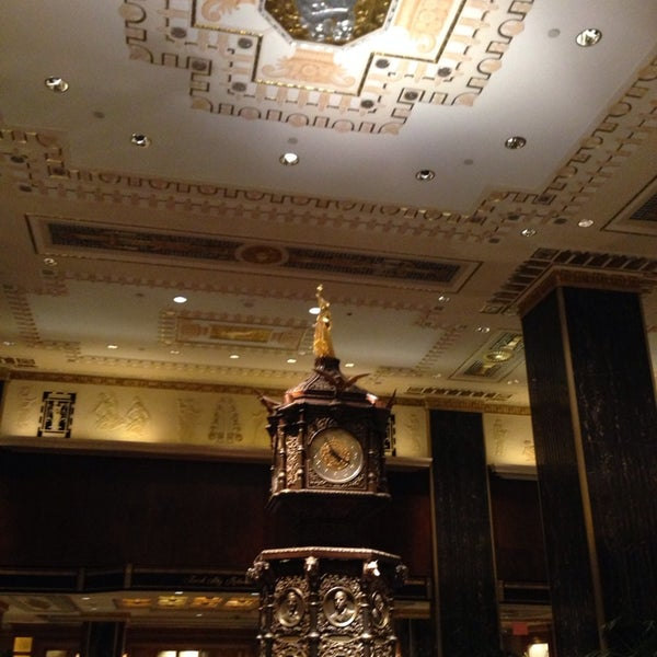 Photo taken at Waldorf Astoria New York by Carole Q. on 4/9/2014