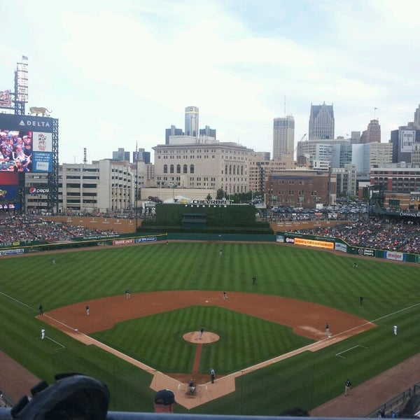 Photo taken at Comerica Park by Rob D. on 6/5/2013