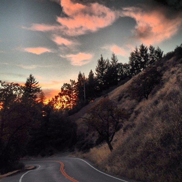 Photo taken at Santa Cruz Mountains by Bruce C. on 8/24/2013