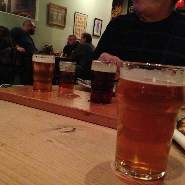 Photo taken at Three Floyds Brewery & Pub by Ashley L. on 1/5/2013