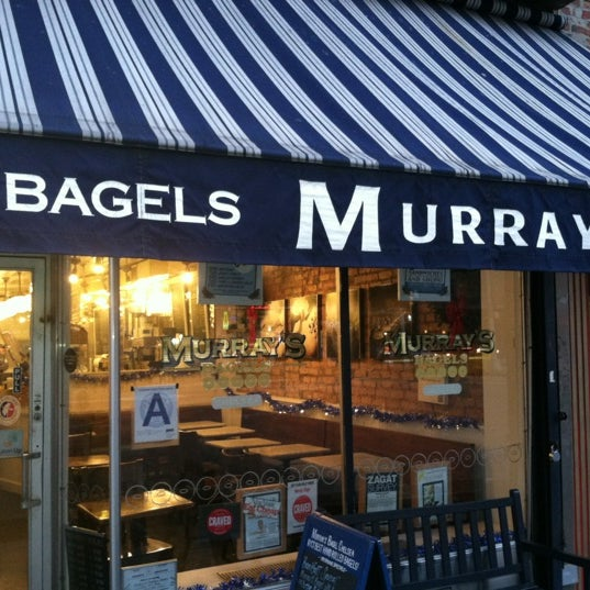 Photo taken at Murray's Bagels by YourNYAgent on 12/12/2012