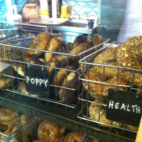 Photo taken at Murray's Bagels by YourNYAgent on 5/7/2013