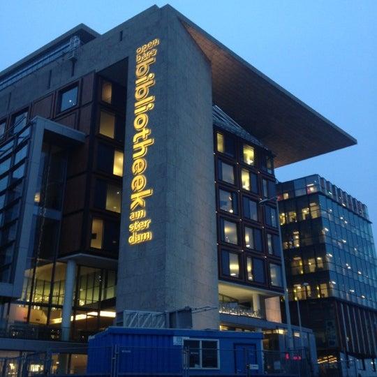 Openbare bibliotheek amsterdam stadsdeel centrum for Bibliotheek amsterdam