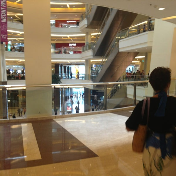 Photo taken at Pacific Place by Zain B. on 1/19/2013