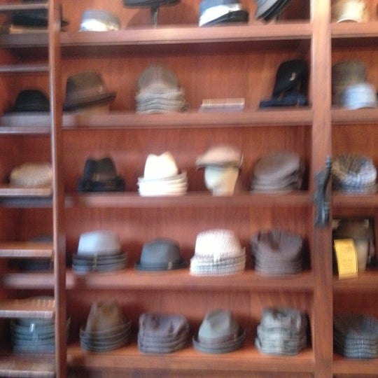 Photo taken at Goorin Bros. Hat Shop by Mark O. on 10/11/2012