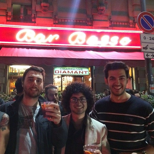 Photo taken at Bar Basso by Ugur Y. on 4/20/2015
