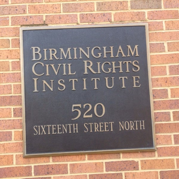 Photo taken at Birmingham Civil Rights Institute by Razan AlFadhel. on 3/21/2014