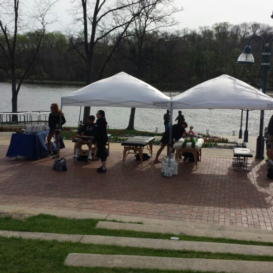 Photo taken at Columbia Town Center Lakefront by Lisa C. on 4/19/2015