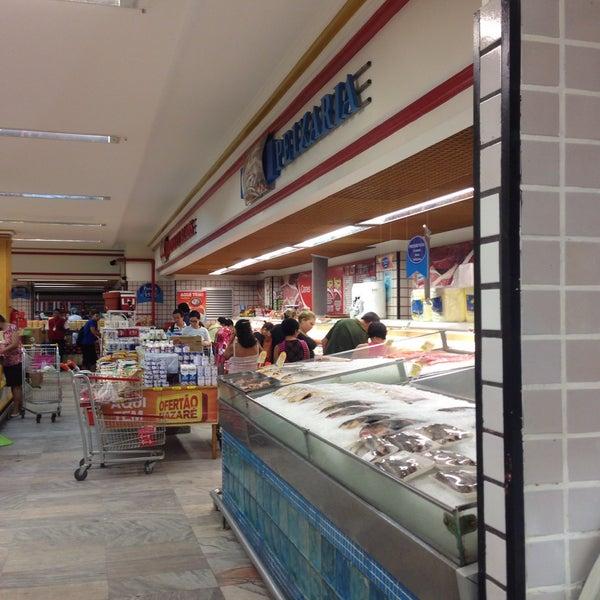 Photo taken at Supermercados Nazaré by Leyla S. on 5/13/2016
