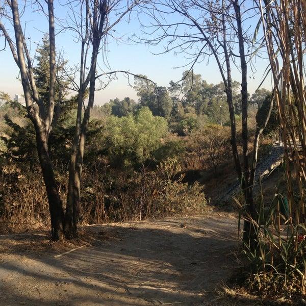 Photo taken at Parque Ecologico Huayamilpas by Ademir P. on 2/2/2013
