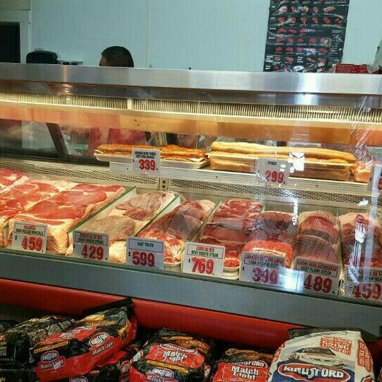 Photo taken at Establos Meat Market by Liz V. on 7/18/2016