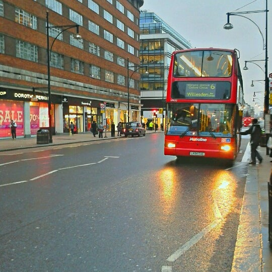 Photo taken at Oxford Street by Anna J. on 1/9/2013