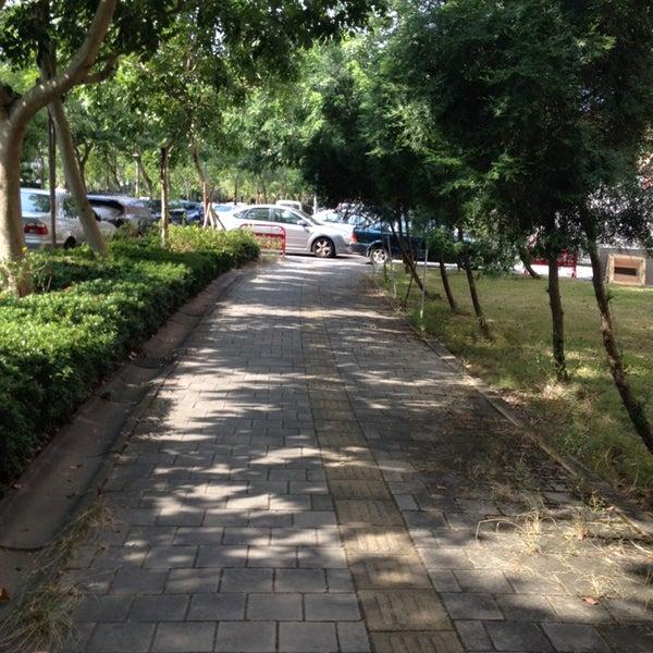 Photo taken at 亞洲大學 | Asia University by Li H. on 10/14/2013
