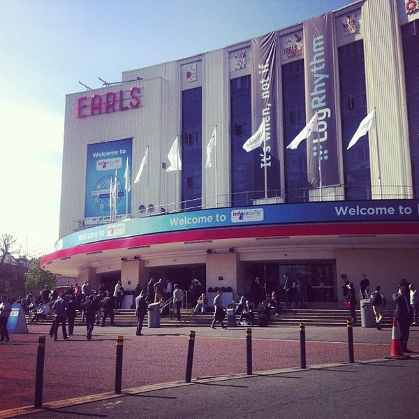 Photo taken at Earls Court Exhibition Centre by Bogdan T. on 4/24/2013