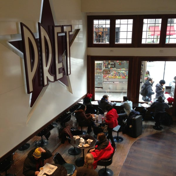 Photo taken at Pret A Manger by Rob K. on 1/4/2013