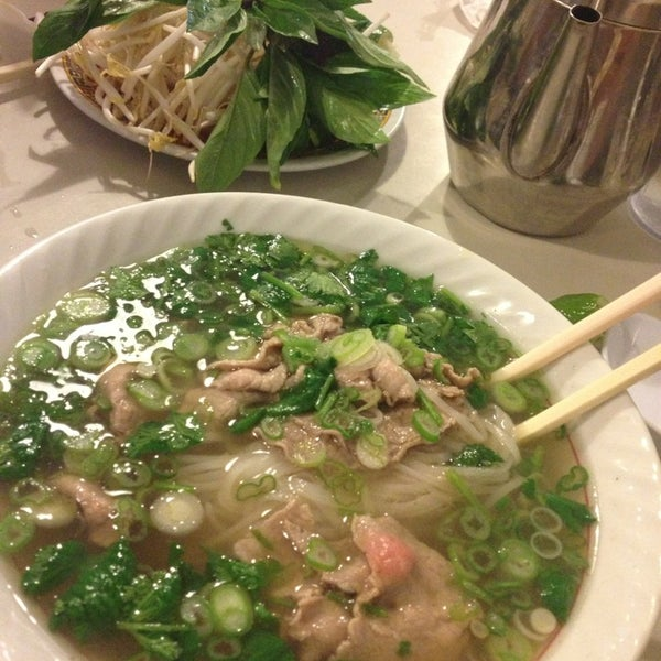 Photo taken at Pho 75 by Katie A. on 2/3/2013