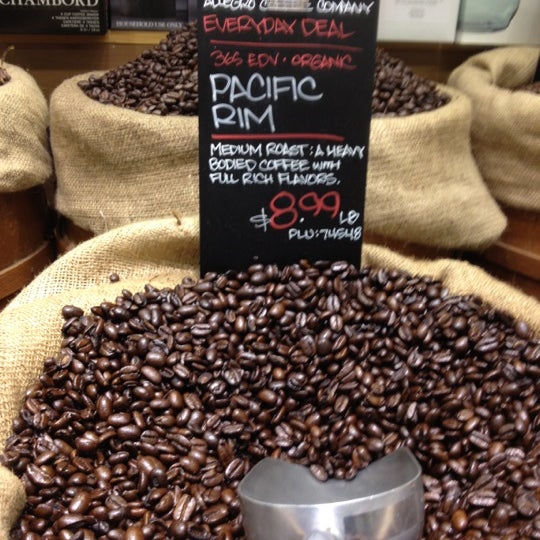 Photo taken at Whole Foods Market by Tiffany C. on 10/25/2012