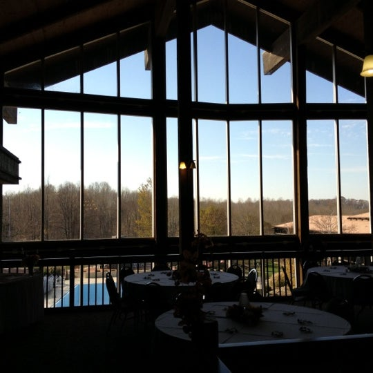 Photo taken at Salt Fork Lodge & Conference Center by Don S. on 11/10/2012