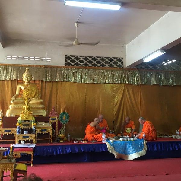 Photo taken at วัดดอนตูม บ้านโป่ง by i_gufgif💋Anongnad P. on 5/21/2016