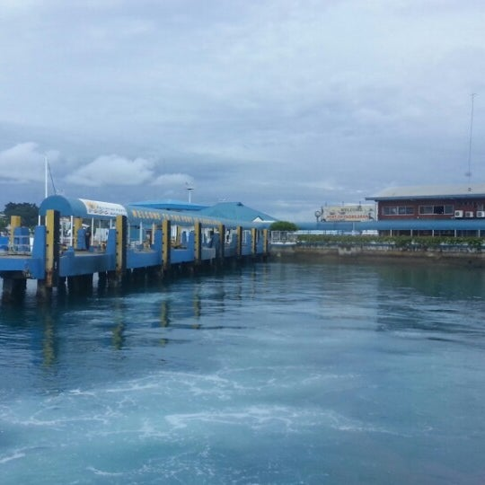 Photo taken at Tagbilaran City Bohol Port by Gordon M. on 7/16/2013
