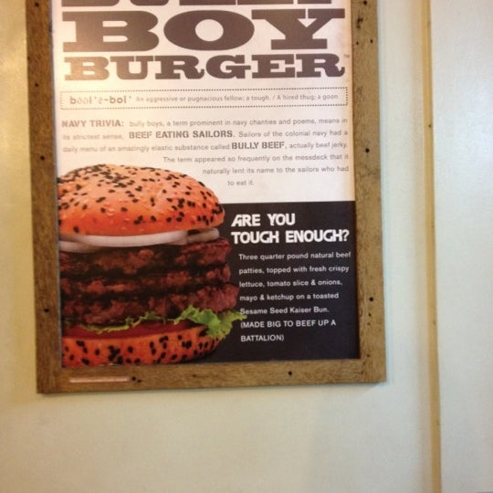 Photo taken at Army Navy Burger + Burrito by Tynn P. on 4/17/2012