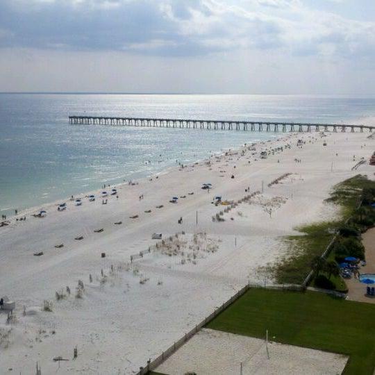 Photo taken at Hilton Pensacola Beach by Ryan H. on 9/30/2011