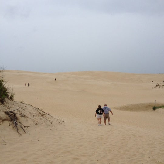 Photo taken at Jockey's Ridge State Park by Amy K. on 6/12/2012