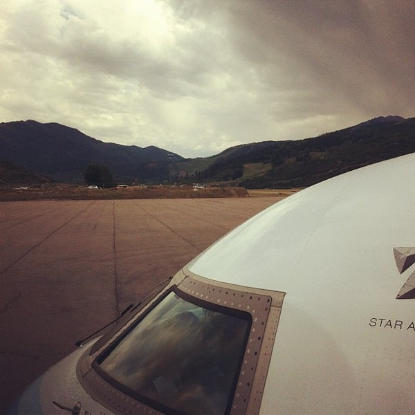 Photo taken at Aspen - Pitkin County Airport (ASE) by Anthony D. on 7/3/2012