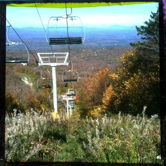 Photo taken at Stratton Summit Gondola by WildHorses on 10/10/2011