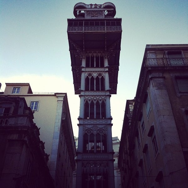 Photo taken at Elevador de Santa Justa by Sergio G. on 11/5/2011