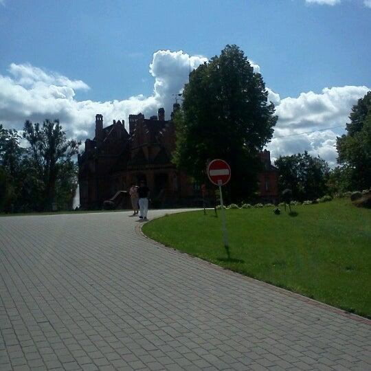 Photo taken at Jaunmoku pils by Sergey S. on 8/12/2012