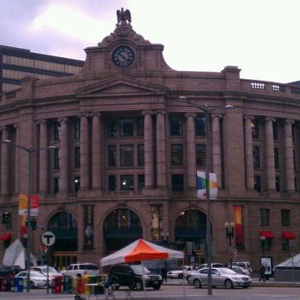 Photo taken at MBTA South Station by John J. on 11/1/2011