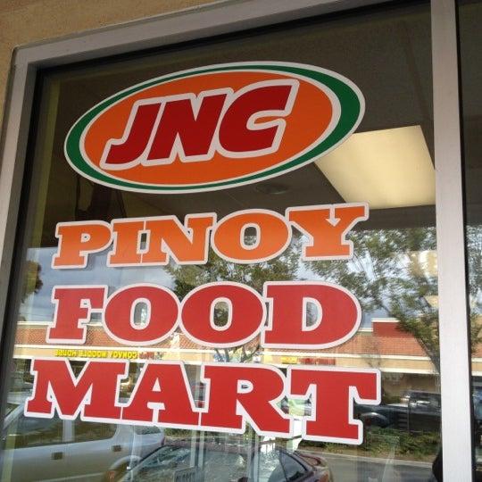 Photo taken at JNC Pinoy Foodmart Inc by Harvey C. on 2/27/2012