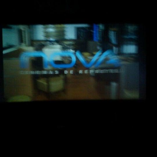 Photo taken at Nova Cinemas by Ruben J. on 1/6/2012