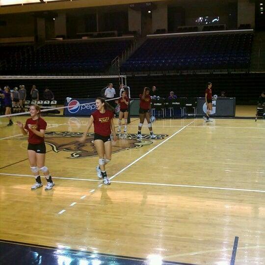 Photo taken at Allen Arena by Bill B. on 11/4/2011