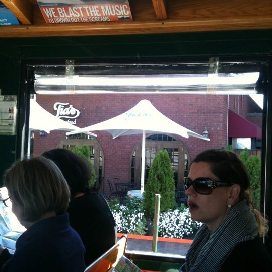 Photo taken at Old Town Trolley Tours of Boston by Joni B. on 9/16/2011