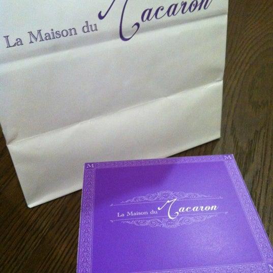 Photo taken at La Maison du Macaron by goldilocks on 6/27/2012