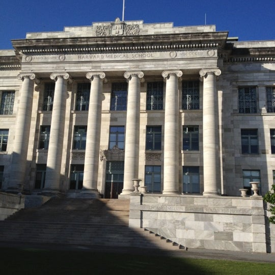 Photo taken at Harvard Medical School Quadrangle by Ammar Y. on 5/12/2012