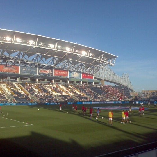 Photo taken at PPL Park by Michael P. on 6/16/2012