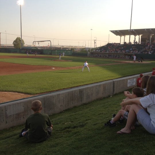 Photo taken at Brent Brown Ballpark by Tom M. on 6/23/2012
