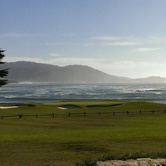 Photo taken at The Lodge at Pebble Beach by Tonmoy G. on 1/12/2014