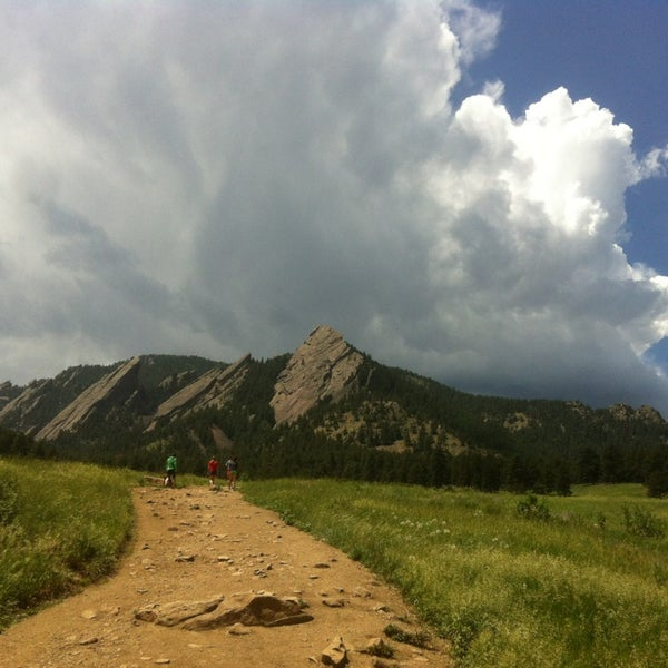 Photo taken at Chautauqua Park by Dion B. on 6/17/2013