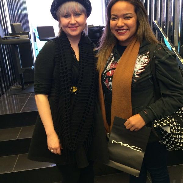 Photo taken at MAC Cosmetics by Yasmin L. on 1/13/2015