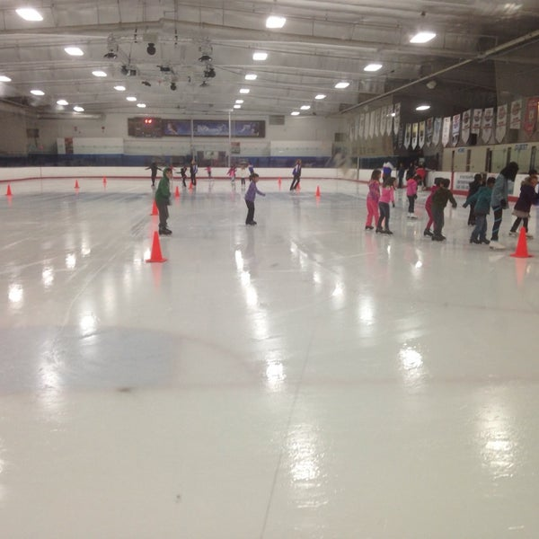 Photo taken at San Diego Ice Arena by Olga J. on 1/4/2014