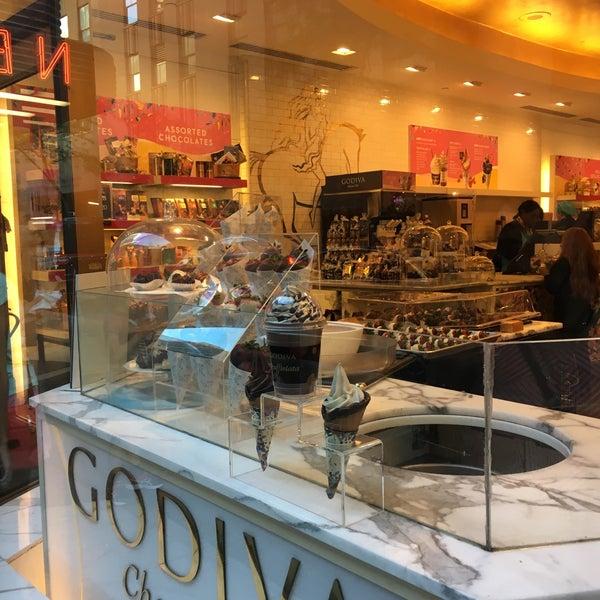 Photo taken at Godiva Chocolatier by Maria P. on 6/29/2016