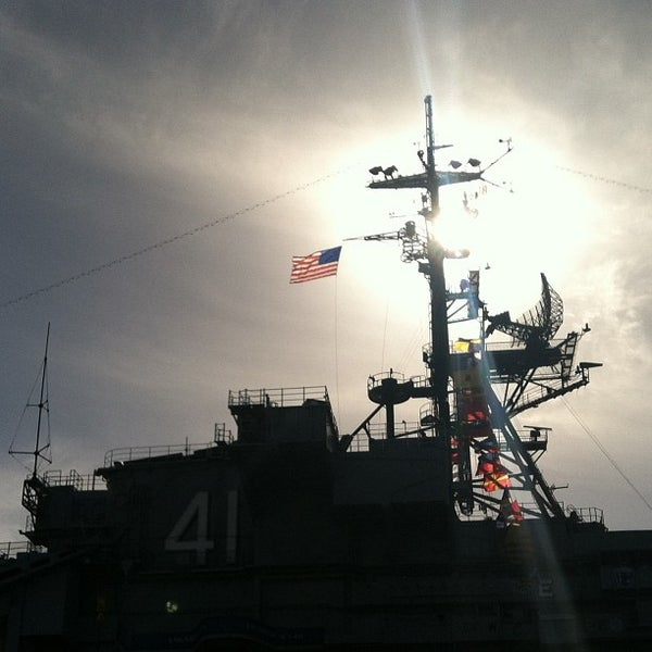 Photo taken at USS Midway Museum by Cory M. on 12/26/2012