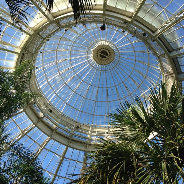 Photo taken at Enid A. Haupt Conservatory by tahnee S. on 2/18/2013