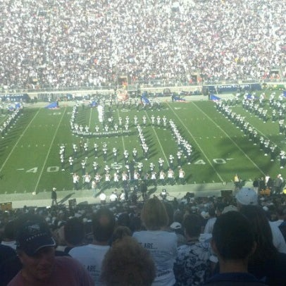 Photo taken at Beaver Stadium by Jenni K. on 9/16/2012