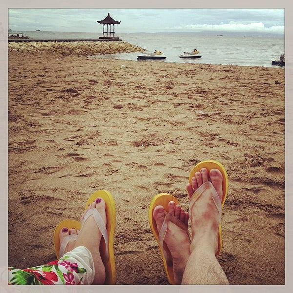 Photo taken at Grand Aston Bali Beach Resort by leni t. on 1/2/2013